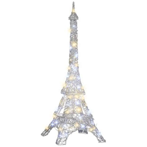 shop gemmy lighted eiffel tower outdoor christmas