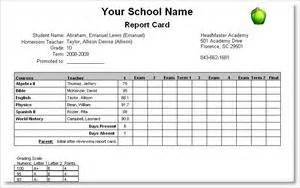 headmaster academy sample reports