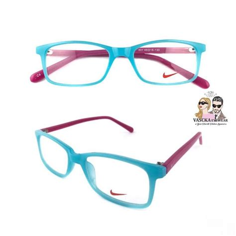 Kacamata Terbaru Promo Castle Builder Frame Gratis Lensa kacamata vasckashop nike blue pink