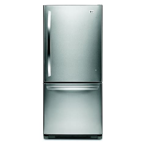 Freezer Lg lg ldn20718st 19 7 cu ft bottom freezer energy refrigerator lowe s canada