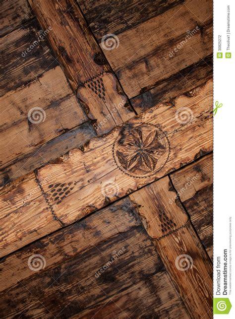 plafond original plafond en bois original photographie stock image 30825272
