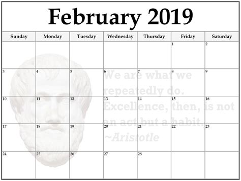 Galerry printable blank calendar july 2018