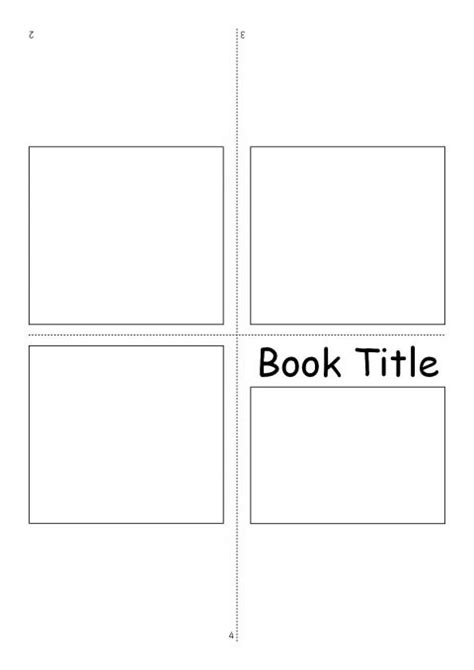 Related Items Kindergarten Book Template