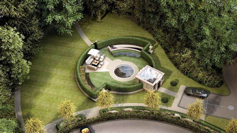 dramatic underground house a landscaped