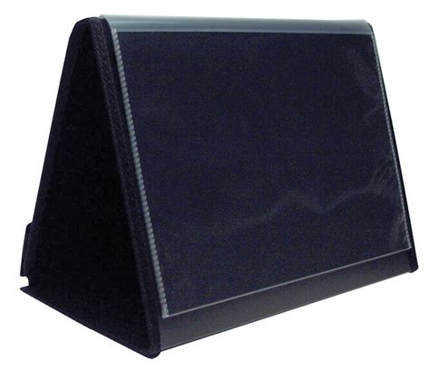Bantex Trendy Display Book A4 20 Pockets Black 3133 10 colby 260 261 easel display books gm stationery au