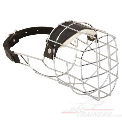 large muzzle order wire cage muzzle ventilation for