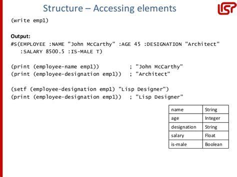 tutorialspoint lisp lisp
