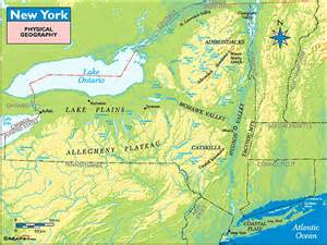 Physical Map Of New York by Gallery For Gt Physical Map Of New York