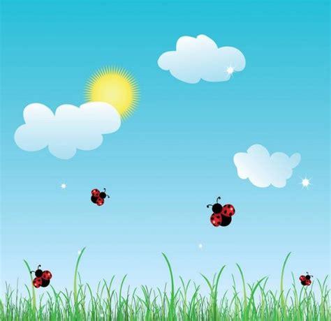 wallpaper awan kartun 夏天卡通图片大全 可爱的瓢虫 图片大全 5068儿童网