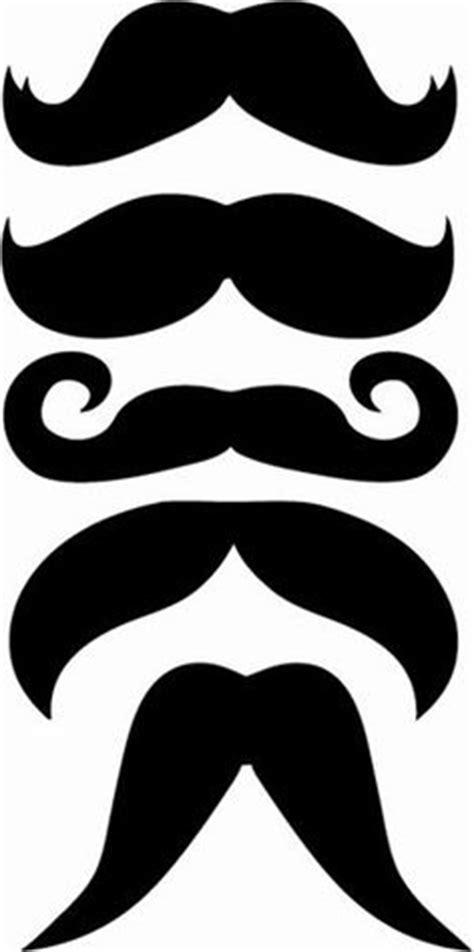 mustache cut out clipart best