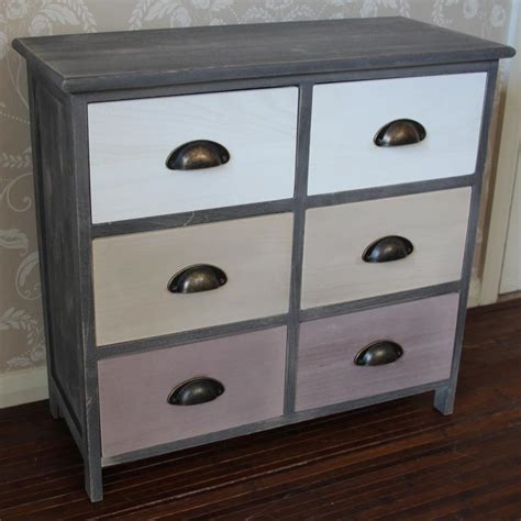 Wooden Drawer Storage Unit by About Us