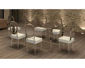 table et chaises baroque