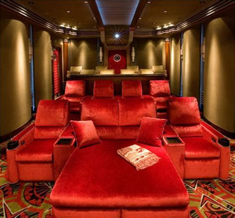 movie room recliners 15 cool home theater design ideas digsdigs