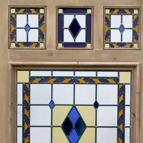 The Stained Glass Door Company 6 Panel Stained Glass Door Buy From Period Home Style