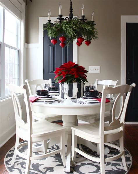 kitchen table decorations home christmas decoration christmas home tour 2014 charming breakfast nooks
