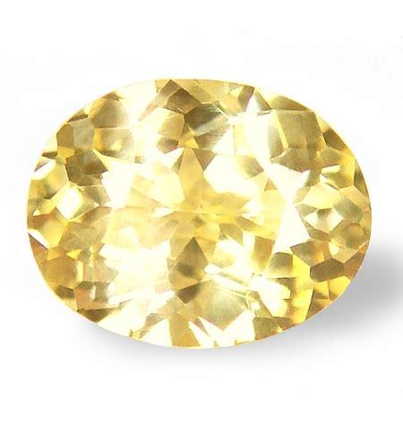 Sapphire No Heat 1 23 Cts certified unheated ceylon yellow sapphires for jyotish