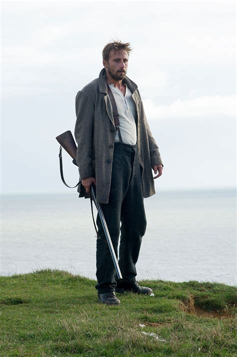 matthias schoenaerts far from the madding matthias schoenaerts as quot gabriel quot in far from the madding