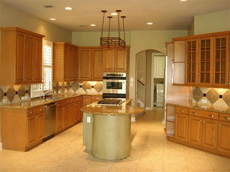 Kitchen Color Ideas With Light Wood Cabinets Light Wood Kitchen Decorating Ideas Cabinets Nanilumi