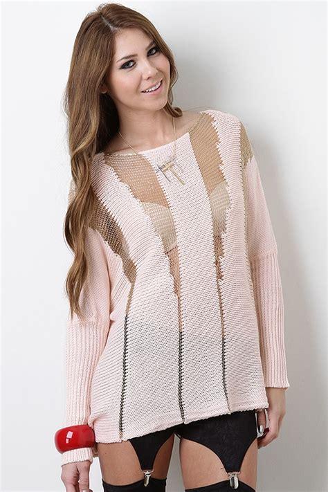 Import Peek A Boo Sweater a peek a boo sweater dress me