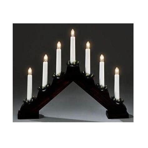 candle bridge lights wooden candle bridge light 7 bulb arch bridge window