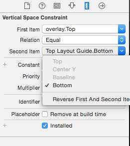 ios top layout guide wrong ios how to pin to toplayoutguide top xcode 7 stack