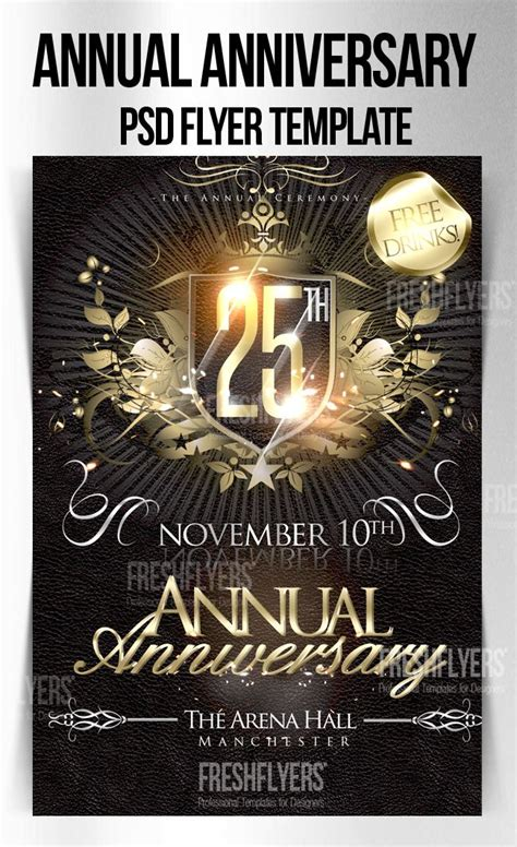 Church Flyer Templates Free Download Anniversary Psd Flyer Template By Imperialflyers Bailey Free Church Flyer Templates