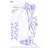 Learn How To Draw A Water Mill Watermills Step By