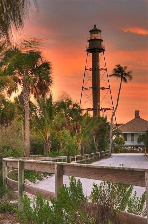 Sanibel Island Light by Sanibel Island Lighthouse America The Beautiful