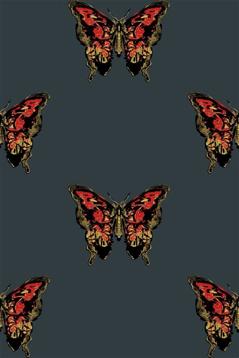 hand printed wallpaper timorous beasties wallcoverings butterfly hand printed