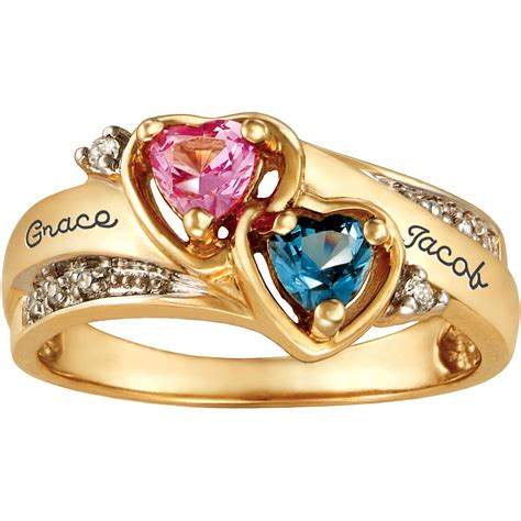 personalized keepsake be mine promise ring with meaning
