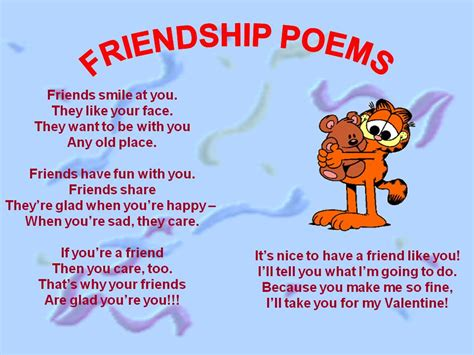friendship poems beautiful friendship poems for