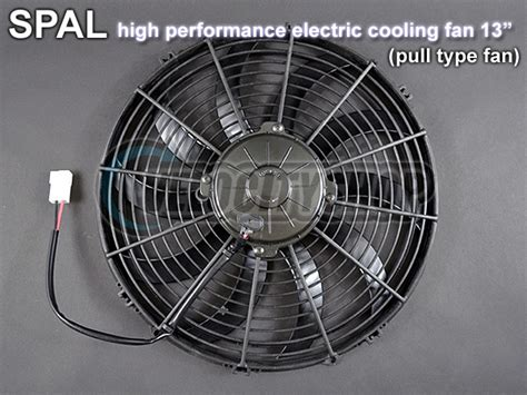 spal 14 electric fan spal high performance electric cooling fan pull type 13
