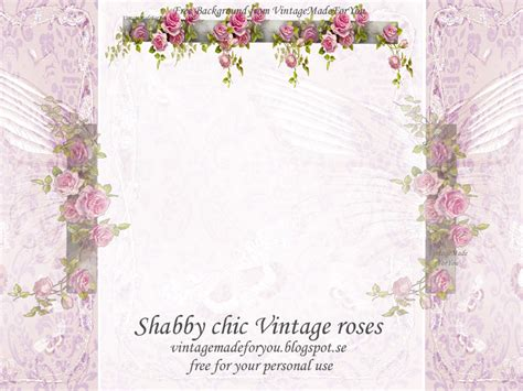 vintagemadeforyou free blog background shabby chic
