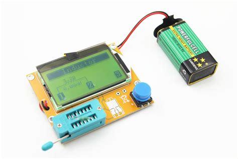 npn transistor multimeter ᗖdigital lcr esr meter ヾ ノ mega328 mega328 transistor tester diode triode triode
