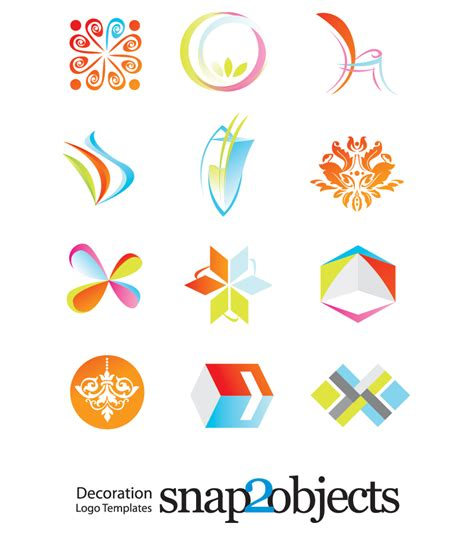 free logo vector template download this set now vector