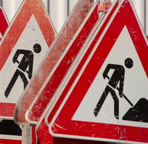 Baustellenschild Rlp by Vollsperrung Auf Der A7 Am 252 Bern 228 Chsten Wochenende Welt