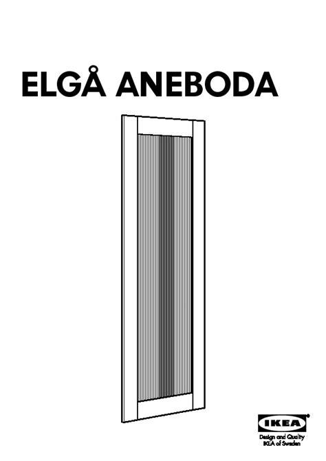 Armoire Elga Ikea by Elg 197 Aneboda Porte Coulissante Transparent Blanc Ikea