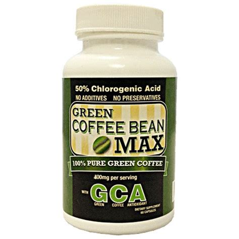 Green Coffee Bean Extract Burner the belly reduction 187 green coffee bean max
