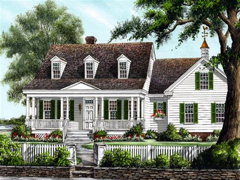 large cottage house plans large colonial house plans southern colonial house plans