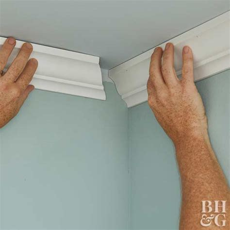 transforming home how to add crown molding to kitchen how to transform a room with crown molding