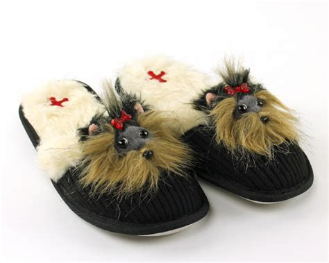 yorkie booties terrier animal slippers animal slippers