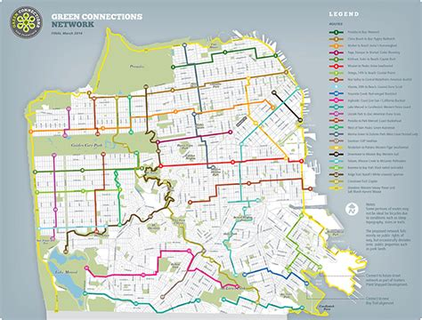 san francisco neighborhoods map with streets sfenvironment org our home our city our planet