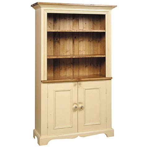 french country furniture parlor bookcase made in country