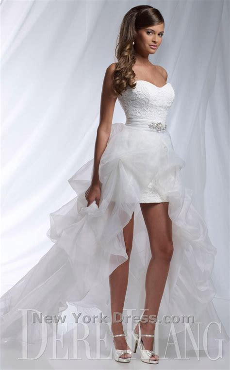 Perfect for a Vegas wedding:).Dere Kiang 11125 Dress. Shop