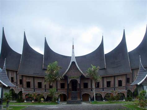 gema budaya filosofi rumah gadang rumah adat minangkabau