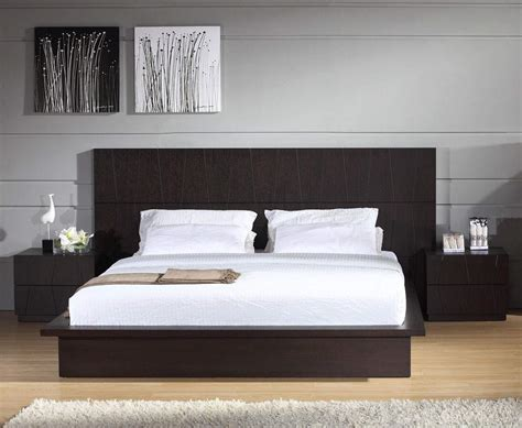 modern wood headboard stylish wood elite platform bed washington dc bh anchor