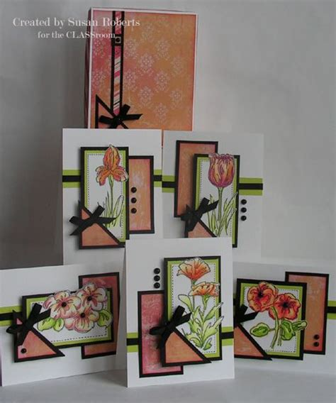 Handmade Sheet Cards - handmade cards one sheet all created with a