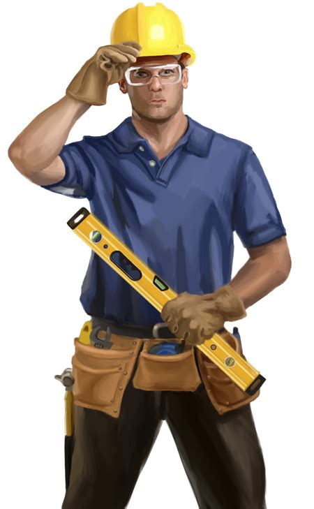 Home Design Engineer Industrial Worker Png Image