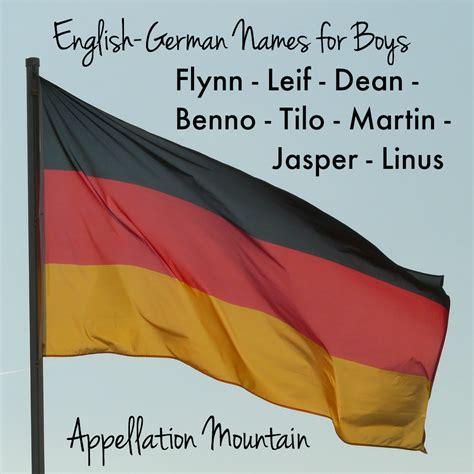german boy names name help german crossover appellation mountain