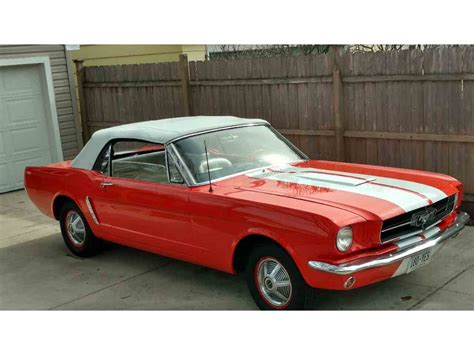 1965 ford mustang 1965 ford mustang for sale classiccars cc 960100